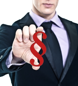 Ein Personalienaustausch ist per Gesetz verpflichtend.