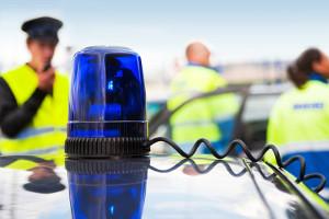 Die Polizei bei einem Unfall rufen? Nicht immer dies dies notwendig.