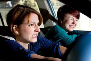 Wenn es sich nicht vermeiden lässt, ein Tier zu überfahren: Bremsen Sie und weichen Sie möglichst nicht aus.