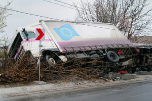 Besonders häufig kommt es auf Deutschlands Straßen zu einem Unfall mit Lkw-Beteiligung.