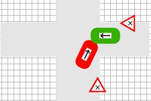 Unfallskizze: Die Unfallzeichnung dient der Ermittlung des Unfallhergangs.