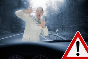 Nach einem Verkehrsunfall mit Personenschaden kann die Fahrerflucht besonders hart bestraft werden.